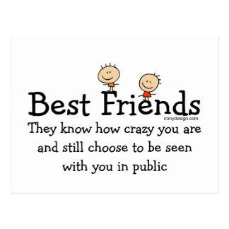 Mejores amigos postales