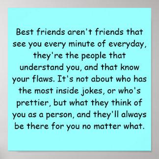 Mejores amigos póster
