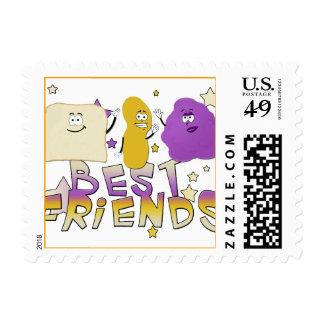 Mejores amigos sello