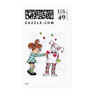 Mejores amigos sellos