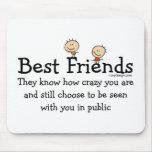 Mejores amigos tapete de raton