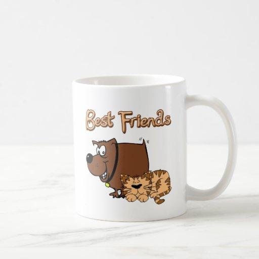 Mejores amigos tazas