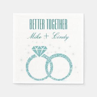 Mejores junto servilletas que se casan del servilleta de papel