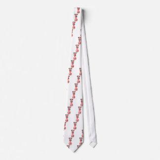 Mejores muertos que rojo corbatas personalizadas