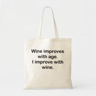 Mejoro con el vino bolsa