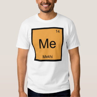 Mekhi Name Chemistry Element Periodic Table T-Shirt