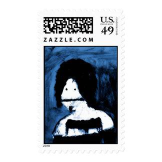 Mekon (Blue) Postage Stamps