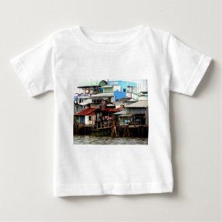 Mekong River Houses Baby T-Shirt