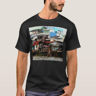 Mekong River Houses T-Shirt