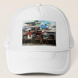 Mekong River Houses Trucker Hat