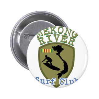 Mekong River Surf Club Pinback Button