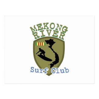 Mekong River Surf Club Postcard