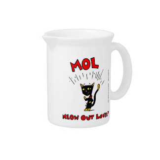 "Mel ""MOL: MEOW OUT LOUD"" Pitcher"