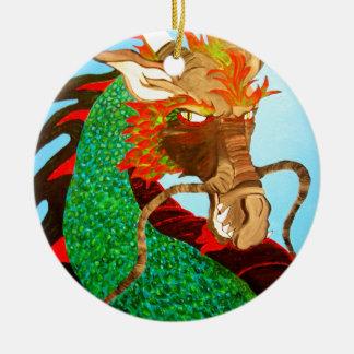 Meladrom Dragon Ceramic Ornament