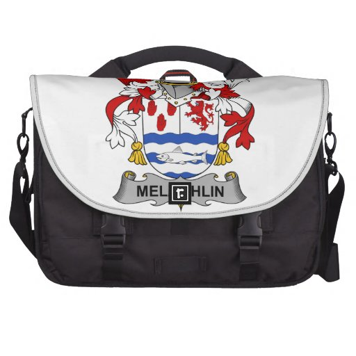 Melaghlin Family Crest Laptop Bags