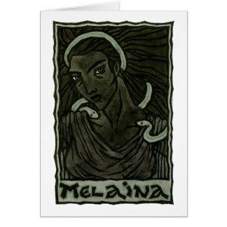Melaina Greeting Card