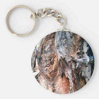 Melaleuca Paperbark Tree Keychain