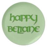 Melamine Happy Beltane Party Plate