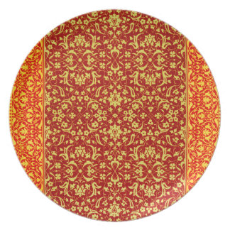 Melamine Plate Arabesque Collection