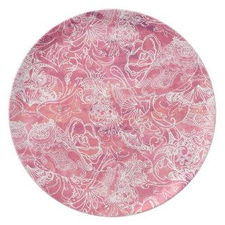 Melamine Plate - Boho Style