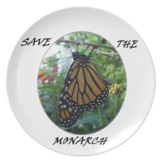 Melamine Plate,Monarch Style #1 Dinner Plate