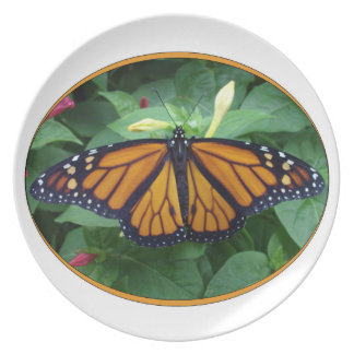 Melamine Plate,Monarch Style #3a Plate