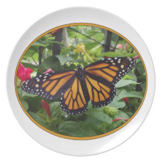 Melamine Plate,Monarch Style#5a Melamine Plate