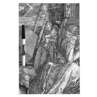 Melancholia by Albrecht Durer Dry Erase Board
