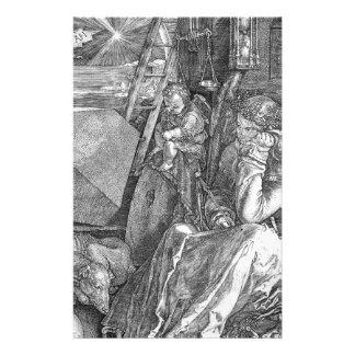 Melancholia de Albrecht Durer Papelería