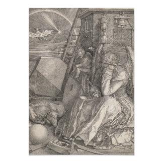 Melancholia I, Engraving by Albrecht Durer Card