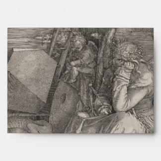Melancholia I, Engraving by Albrecht Durer Envelope
