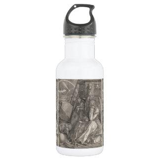 Melancholia I, grabando por Albrecht Durer Botella De Agua De Acero Inoxidable