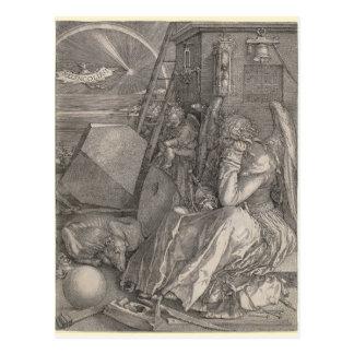 Melancholia I, grabando por Albrecht Durer Tarjetas Postales