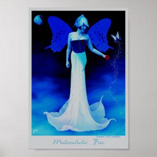 Melancholic Fae Poster
