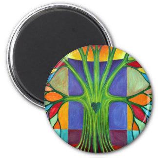 Melancholy 2 Inch Round Magnet