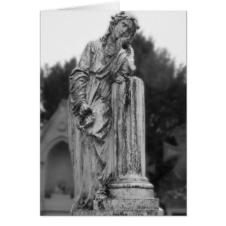 Melancholy Angel Stationery Note Card