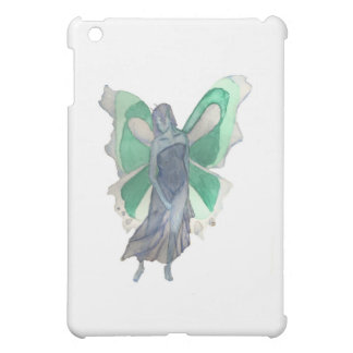 Melancholy Blue and Green Fairy - Watercolor Case For The iPad Mini