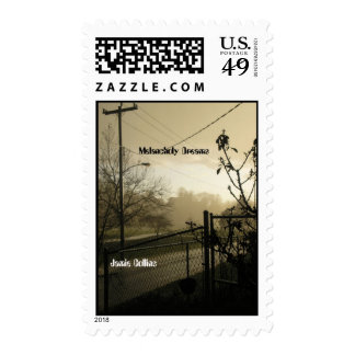 Melancholy Dreams Postage Stamps