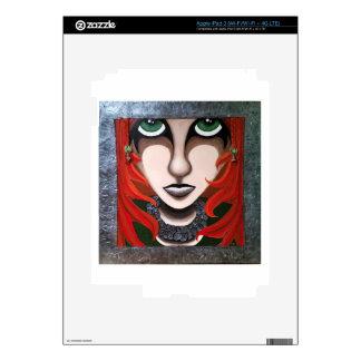 Melancholy Girl iPad 3 Decal