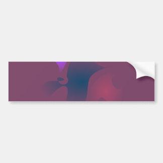 Melancholy on a Rainy Day Car Bumper Sticker