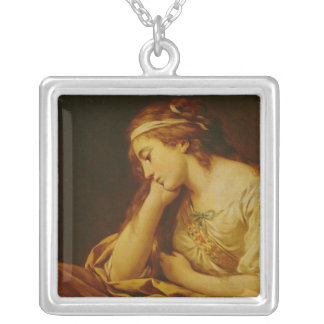 Melancholy Silver Plated Necklace