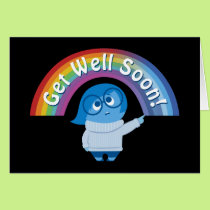 Melancholy Spirals | Get Well Soon Card