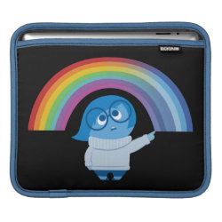Inside Out's Sadness with Rainbow iPad Sleeve