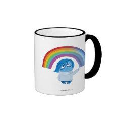 Melancholy Spirals Ringer Coffee Mug
