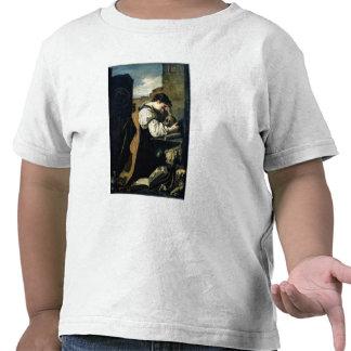 Melancolía (aceite en lona) camisetas
