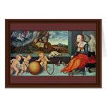 Melancolía por Cranach D. Ä. Lucas (la mejor calid Felicitaciones