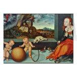 Melancolía por Cranach D. Ä. Lucas (la mejor calid Tarjetas