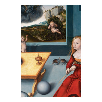 Melancolía por Lucas Cranach la anciano Papeleria