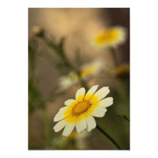 """Melancolic flower invitación 5"""" x 7"""""""