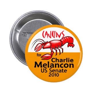 Melancon CAJUNS 2010 Button